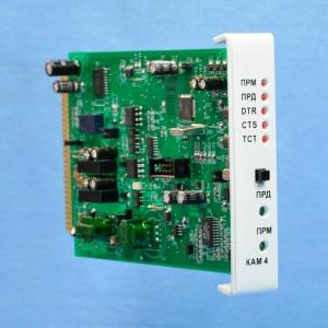 Комбинированный модуль контроллера, адаптера и модема КАМ4