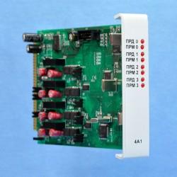 Модуль четырехканального линейного адаптера М4А1