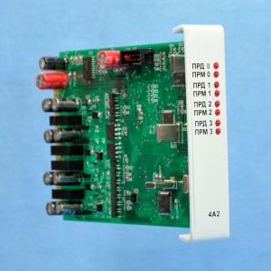 Модуль четырехканального линейного адаптера М4А2