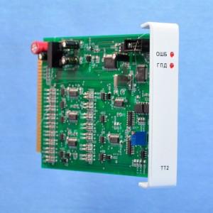 Модуль ввода телеизмерений текущих  значений измеряемых параметров МТТ3