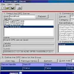 OPC DA сервер